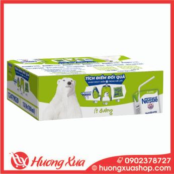Thùng 48 hộp sữa Nestlé Gấu ít đường (48x180ml)