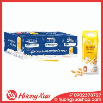 Thùng 24 Hộp Sữa Chua Nestlé Acti-V Yến Mạch 180ml/hộp