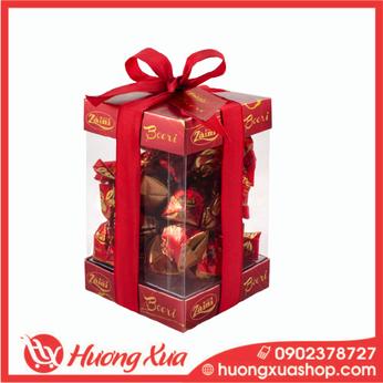 Kẹo sô cô la đen nhân anh đào Boeri Gift Box 242g