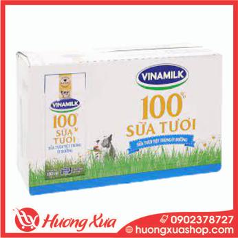Sữa tươi Vinamilk có đường 180ml thùng 48