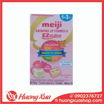 Sữa viên Meiji Growing Up Formula EZcube 448g cho bé 1-3 tuổi