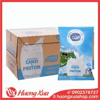 Sữa tươi Cô gái Hà lan ít đường 220ml thùng 48
