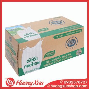 Sữa tươi Cô gái Hà lan có đường 220ml thùng 48