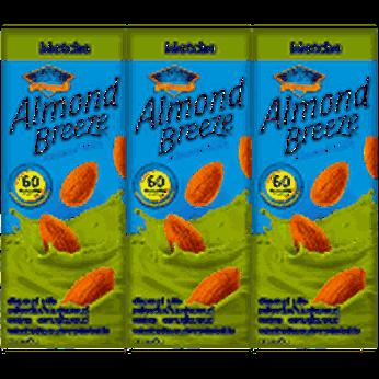 Sữa hạt hạnh nhân Almond Breeze Matchalốc 3 hộpx180ml