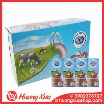 Sữa tươi Cô gái Hà lan socola 180ml thùng 48