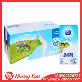 Sữa tươi Cô gái Hà lan có đường 1L thùng 12
