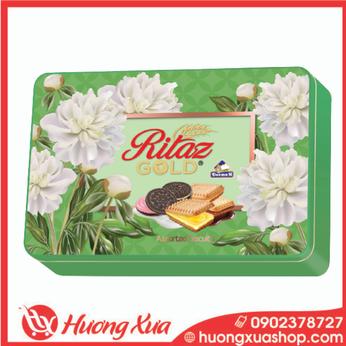 Bánh Quy Ritaz Deemah Assorted Bitcuits Hình Bông422g(1)