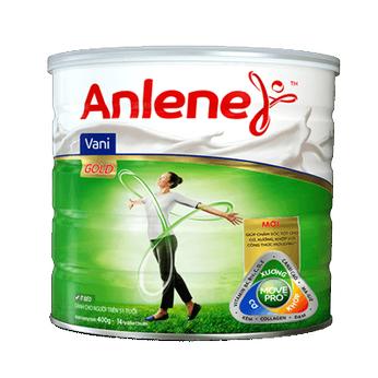 Sữa Anlene Gold MovePro hương Vani (40 tuổi Trở lên) lon 400g