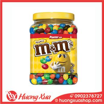 Kẹo Sôcôla Nhân Đậu Phộng M&M's Peanut Chocolate Candies 1757.7g