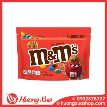 Kẹo M&M's Peanut Butter Chocolate Sharing Size 272.2g