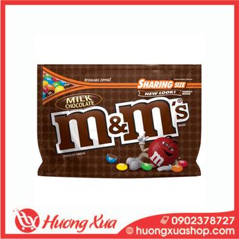 Kẹo M&M's Milk Chocolate Sharing Size