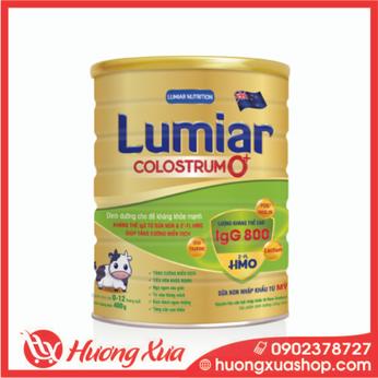 Sữa Lumiar Colostrum 0+ 400g Dinh dưỡng cho đề kháng khỏe mạnh