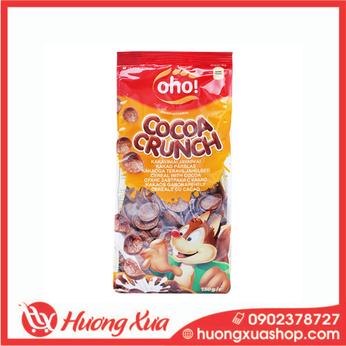 Ngũ cốc nguyên hạt Oho Cocoa Crunch gói 150g