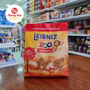 Bánh quy hình thú Leibniz Zoo Original gói 125g