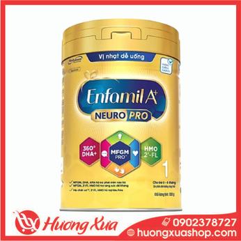 Sữa bột Enfamil A+ NeuroPro 1 với 2'-FL HMO cho trẻ từ 0 – 6 tháng tuổi– 830g