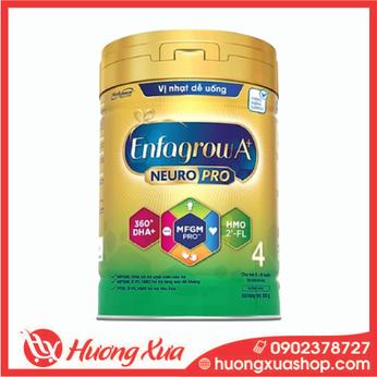 Sữa bột Enfagrow A+ NeuroPro 4 với 2'-FL HMO cho trẻ từ 2 – 6 tuổi – 830g