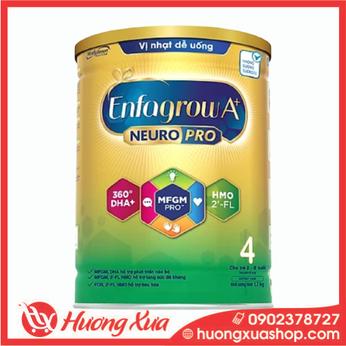 Sữa bột Enfagrow A+ NeuroPro 4 với 2'-FL HMO cho trẻ từ 2 – 6 tuổi – 1.7kg