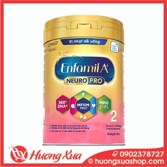 Sữa bột Enfamil A+ NeuroPro 2 với 2'-FL HMO cho trẻ từ 6 –12 tháng tuổi– 830g