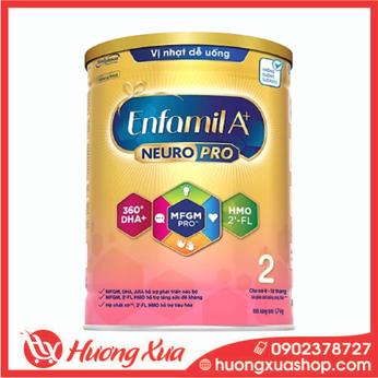 Sữa bột Enfamil A+ NeuroPro 2 với 2'-FL HMO cho trẻ từ 6 –12 tháng tuổi– 1.7kg