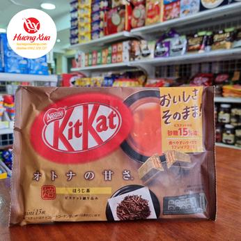 Bánh KitKat Mini Adult Sweetness Hojicha (13 thanh)