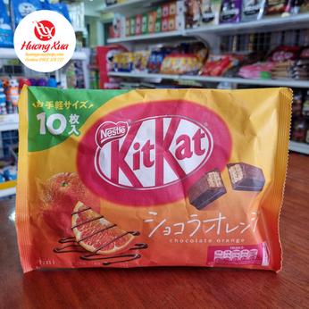 Bánh KitKat Mini Chocolate Orange (10 thanh)
