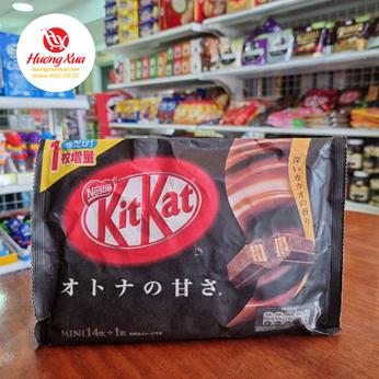Bánh KitKat Mini Dark Chocolate (14 thanh)