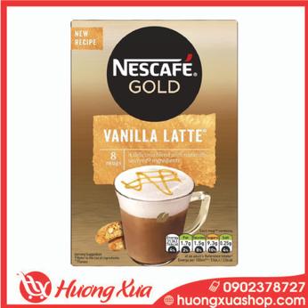 Cà phê Nescafe GOLDVanilla Latte 148g