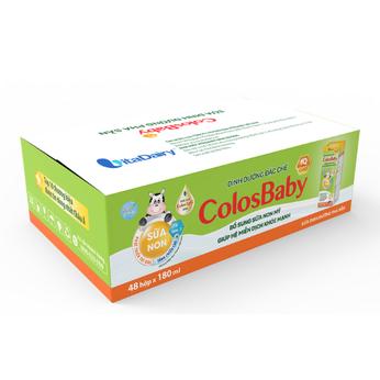 Sữa dinh dưỡng pha sẵn ColosBaby IQ Gold180ml