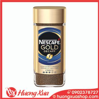 Cà phê Nescafe GOLDDecaff 100g