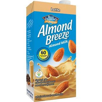 Sữa hạt hạnh nhân Almond Breeze Lattehộp 946ml