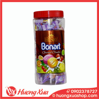 Kẹo King Henry Bonnart Assorted Candies 450g