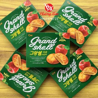 Bánh quy CW Grand Shell nhân táo hộp 234g (12 bánh)