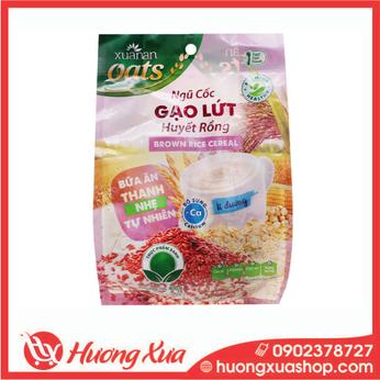 Gạo lức huyết rồng Việt Ngũ Cốc bịch 400g - Bữa ăn thanh nhẹ, thiên nhiên