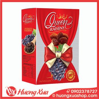 Nho khô đen Queen Raisins hộp 150g (3)