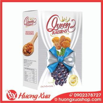 Nho khô đen Queen Raisins hộp 150g (4)