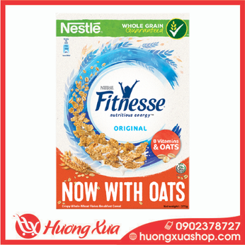 Ngũ cốc ăn sáng Nestlé Fitnesse Original hộp 375g