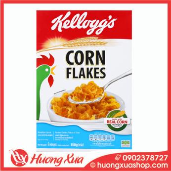 Ngũ cốc Kellogg's Corn Flakes vị bắp hộp 150g