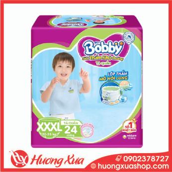 Tã quần Bobby Trung XXXL (24 miếng)