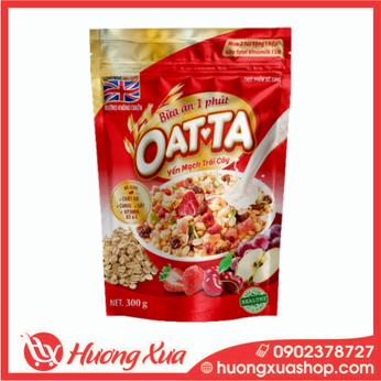 Yến mạch trái cây OATTA 300g - Bữa ăn 1 phút