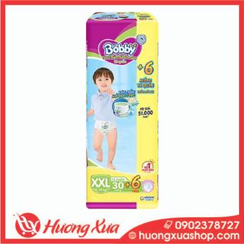 Tã quần Bobby Trung XXL (30 miếng)
