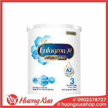 Sữa Enfagrow A2 NeuroPro 3  dành cho trẻ 1 - 6 tuổi 350g