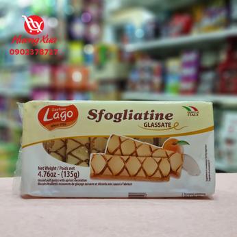 Bánh Gastone Lago Elledi Sfogliatine Glassate 135g