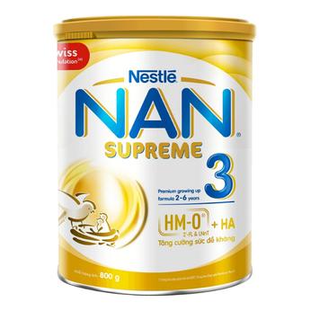NAN Supreme 3 (2HMO) 800g tăng cường sức đề kháng, chống dị ứng