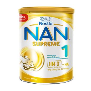 Nan Supreme1 (2HMO) 800g tăng cường sức đề kháng, chống dị ứng