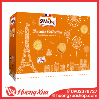 Bánh quy cao cấp St Michel Biscuits Collection 270g