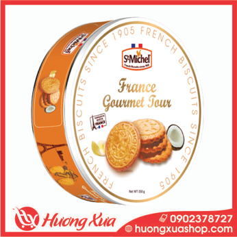 Bánh quy cao cấp St Michel Biscuits Collection 150g