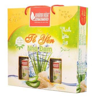 Hộp Quà Yến Sào Nha Đam Cao Cấp Khánh Hòa Nutrition 125 ml