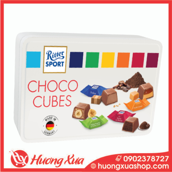 Socola hỗn hợp Ritter Sport Chocolate Cubes Selection 192g