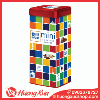 Socola hỗn hợp Ritter Sport Chocolate Mini Collection 250g