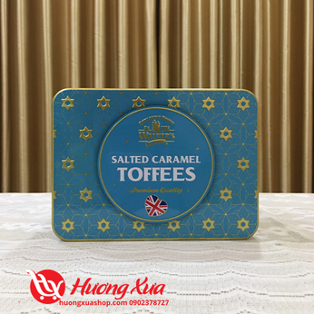 Kẹo Salted Caramel Toffees Walker's 200g